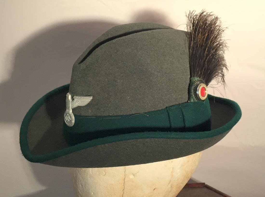German WWII Nazi Forestry Hat