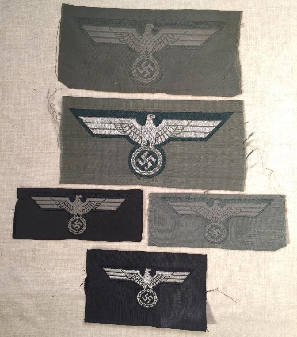 German WWII BeVo Eagle Lot