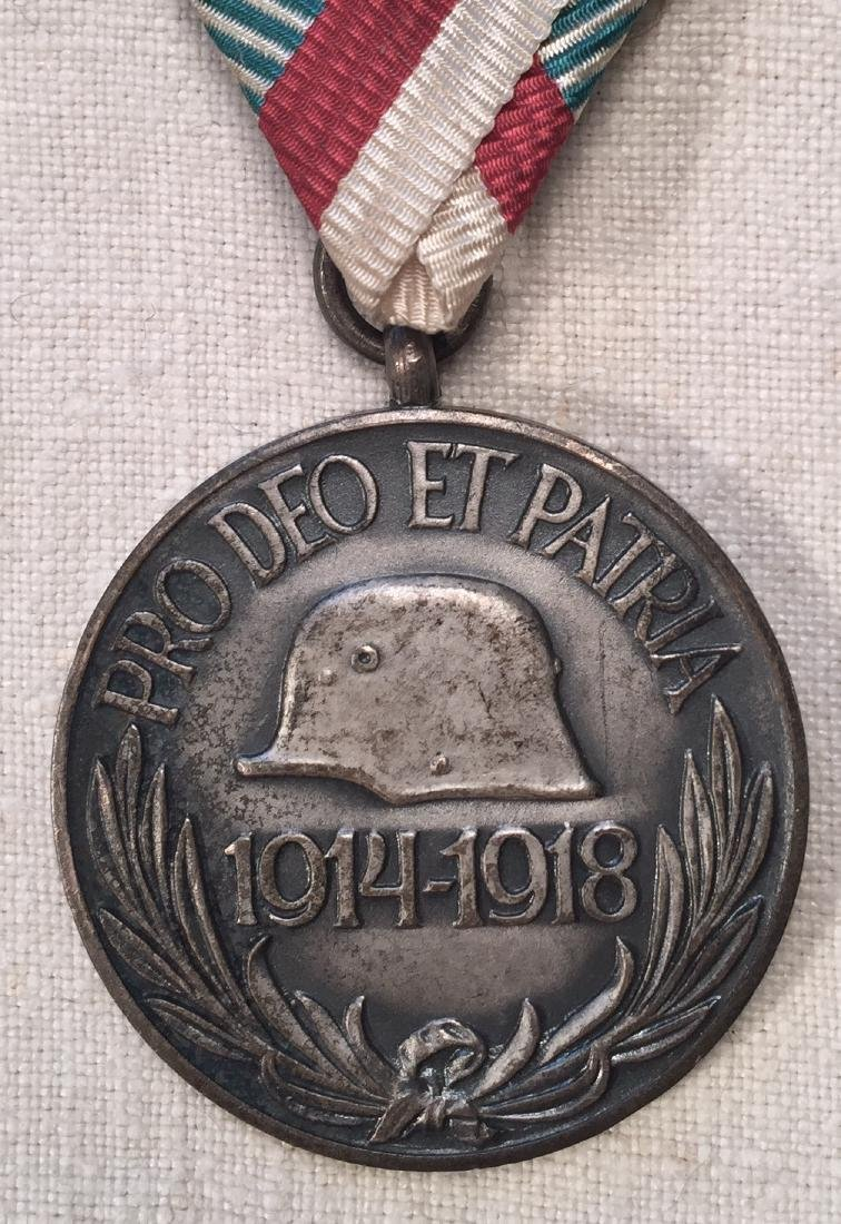 WWI Hungary Commemorative Combatant Medal