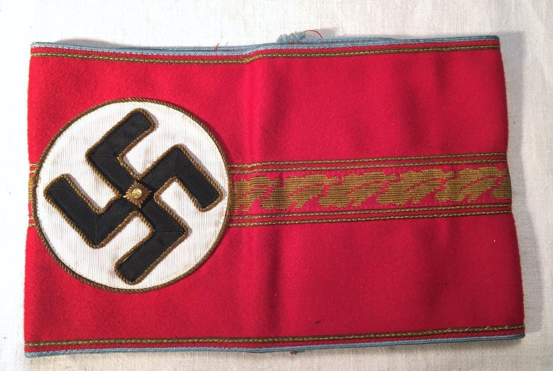 WWII German Nazi Political Leader Armband RZM