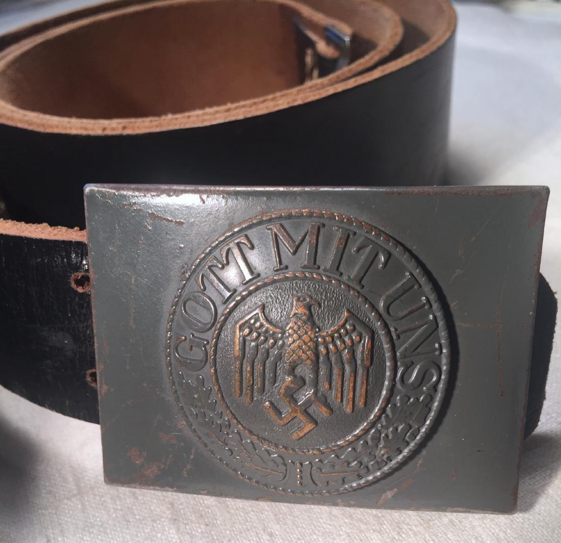 WWII German Belt & Buckle Nazi