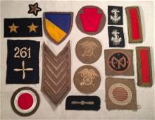 US WWII Era Patches Badges Insignia