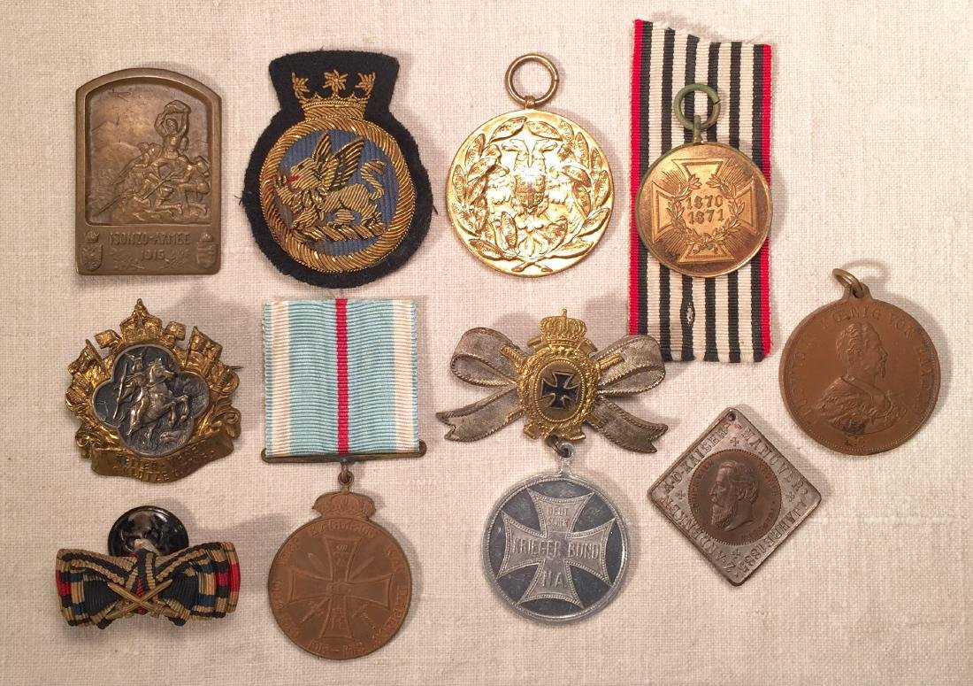 WWI Era German Medals Coins Tinnies