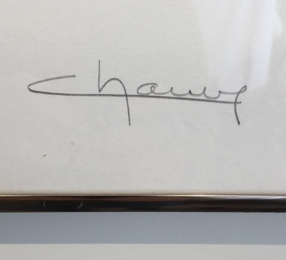 Lionel Chauve Print Titled Le Telephone - 5
