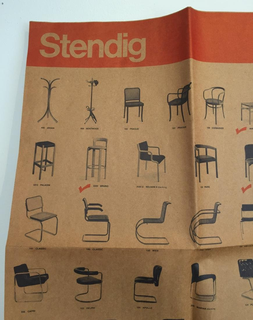 1976 Stendig Designer's Survival Index Poster - 2