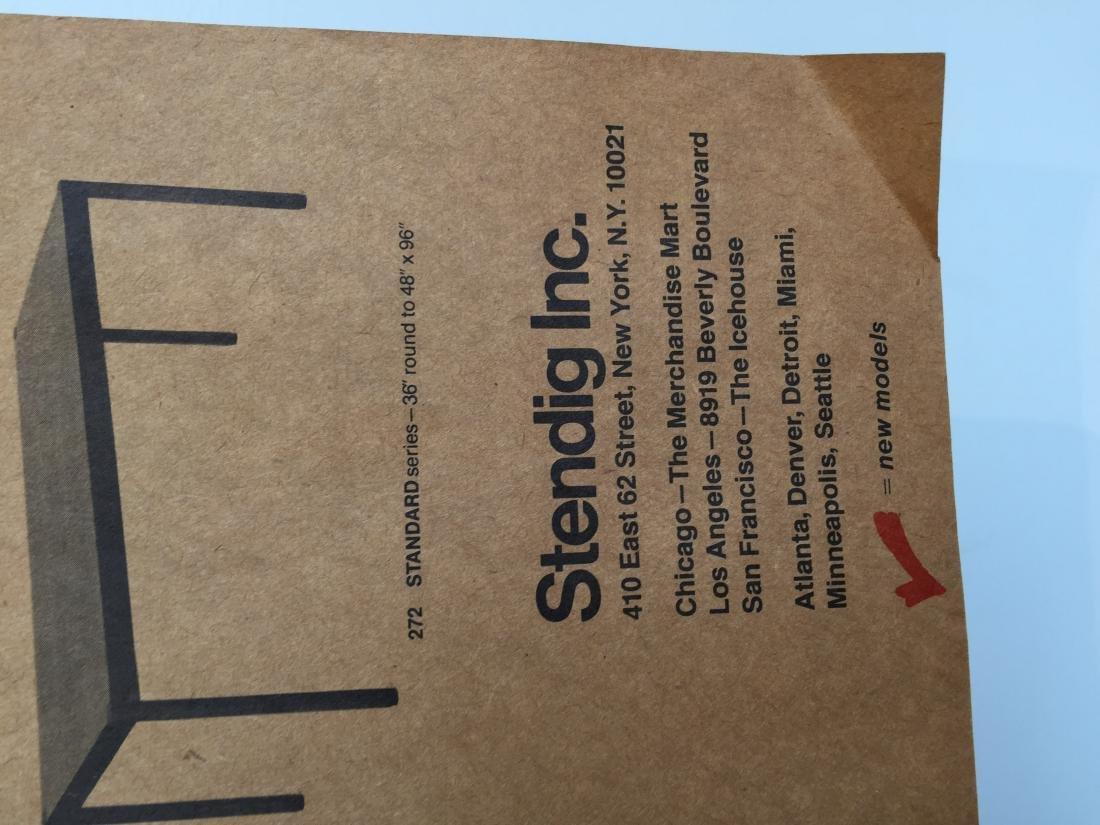 1976 Stendig Designer's Survival Index Poster - 3
