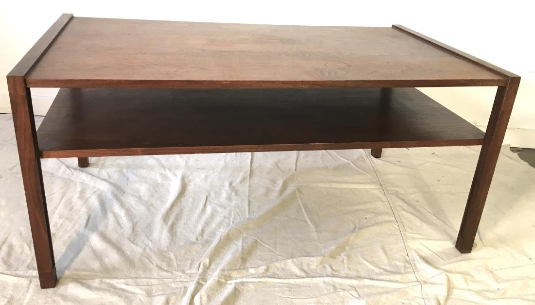Dunbar Two Tiered Coffee Table in Walnut
