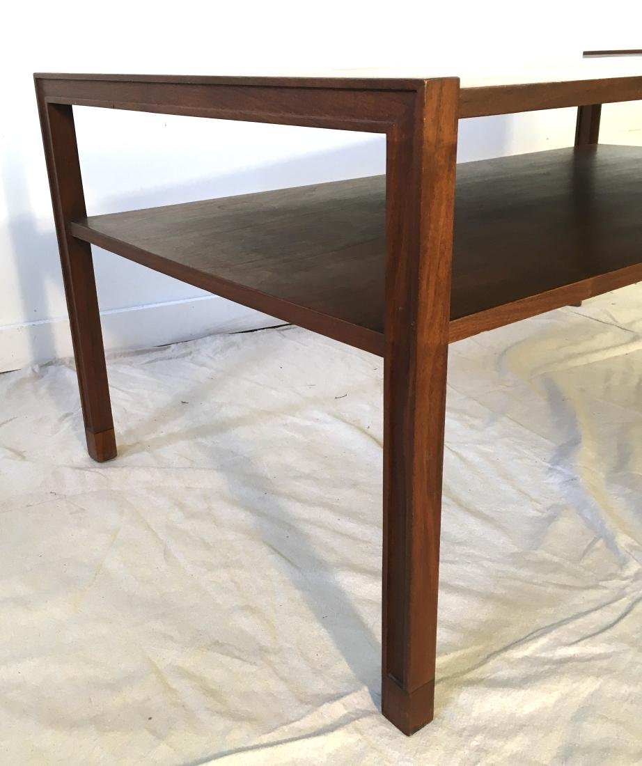 Dunbar Two Tiered Coffee Table in Walnut - 4