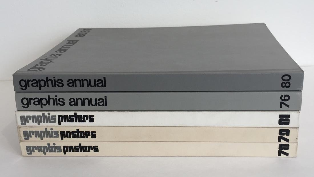 Graphis Annual and Graphis Posters - 5 Volumes