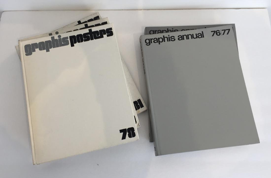 Graphis Annual and Graphis Posters - 5 Volumes - 2