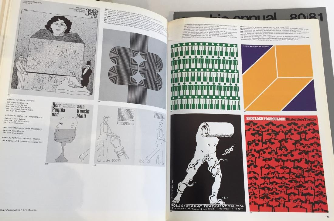 Graphis Annual and Graphis Posters - 5 Volumes - 5