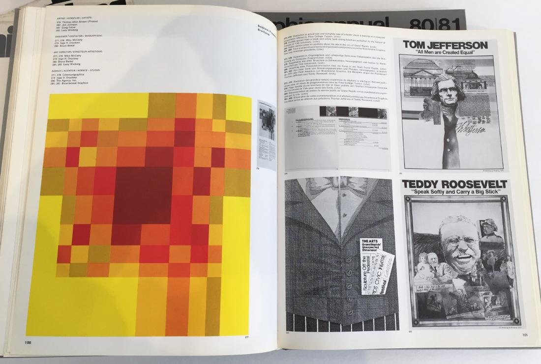Graphis Annual and Graphis Posters - 5 Volumes - 7