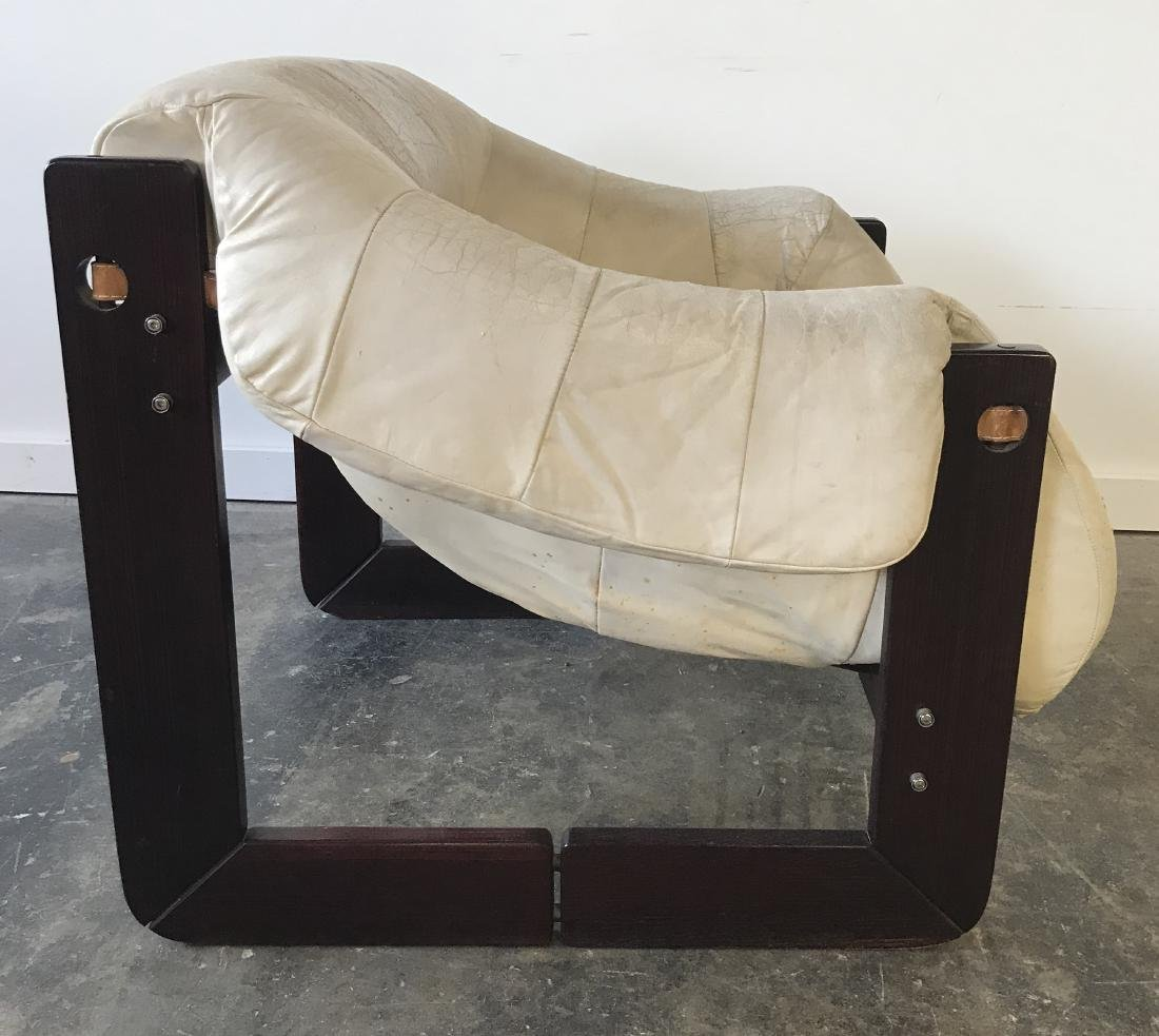 Percival Lafer Leather Chair