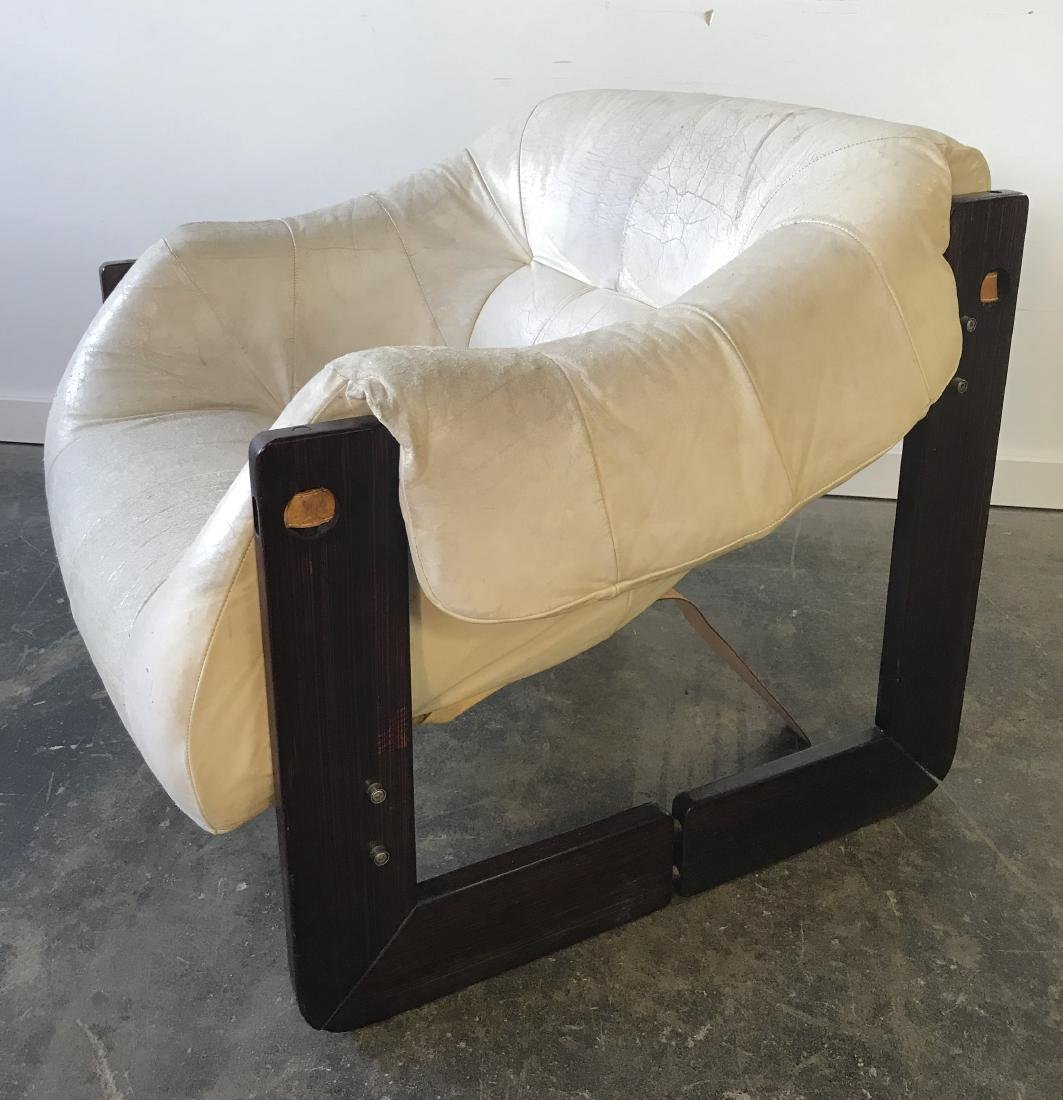 Percival Lafer Leather Chair - 4