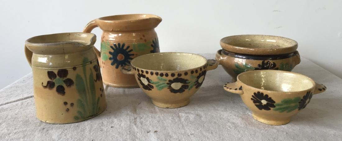 French Redware Lot