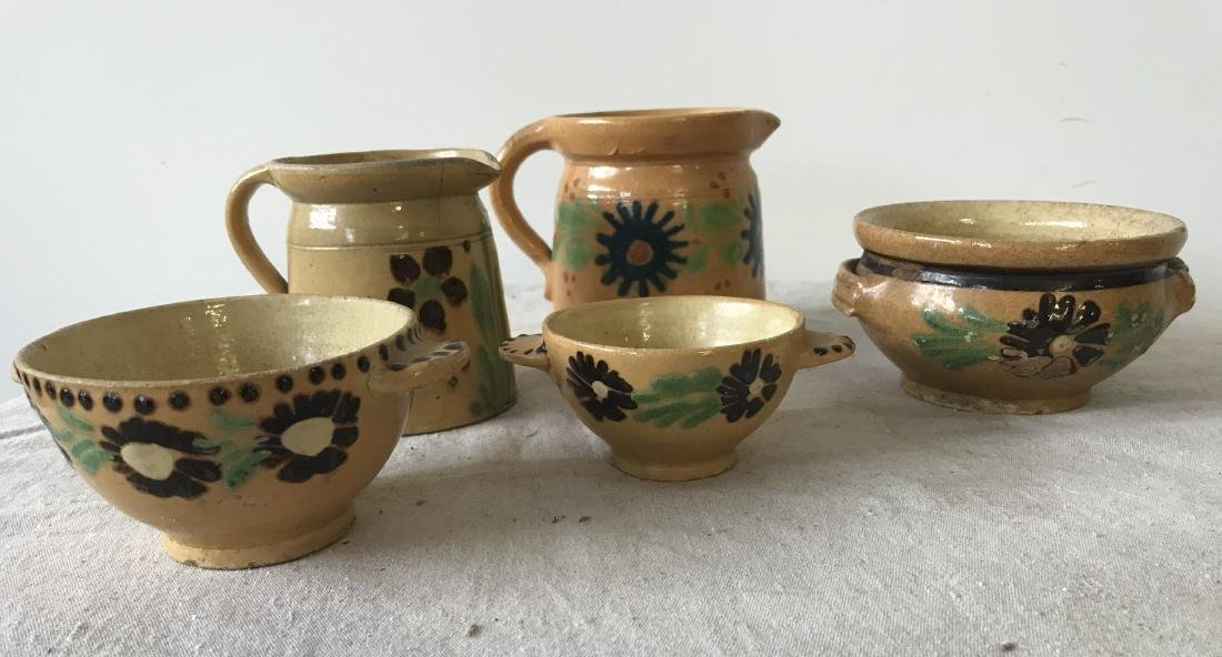 French Redware Lot - 3