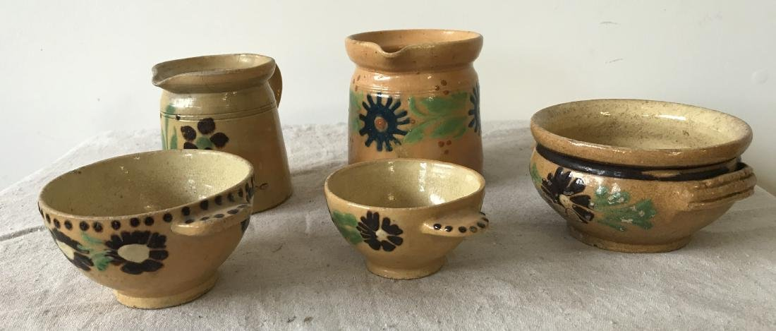 French Redware Lot - 4