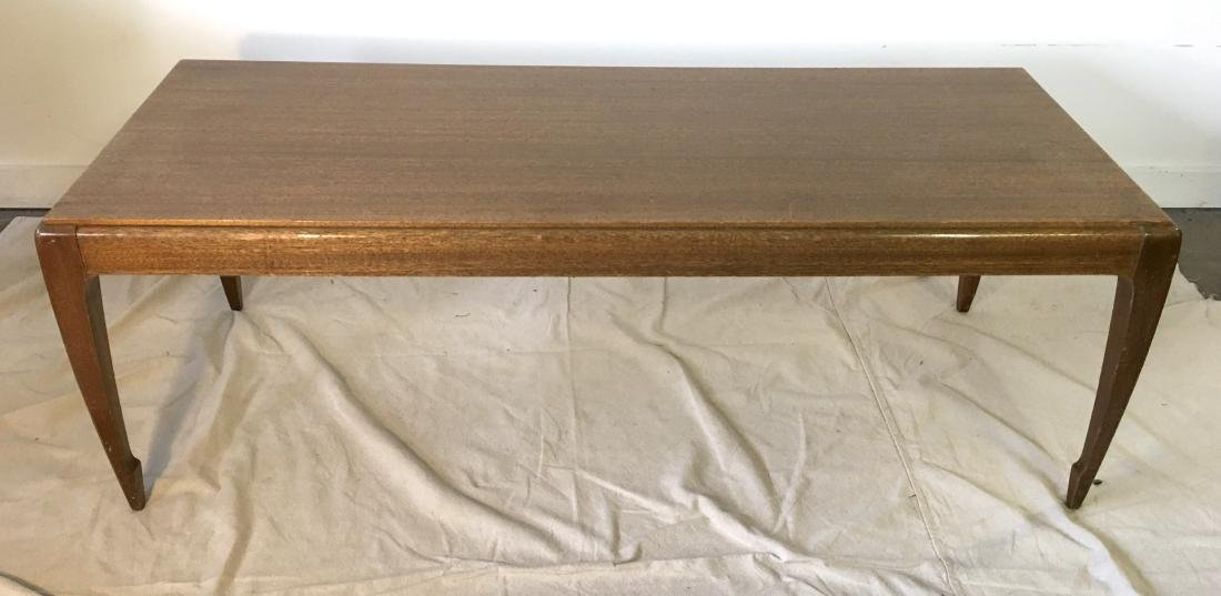Asian Inspired Mahogany Coffee Table by Brown Saltman