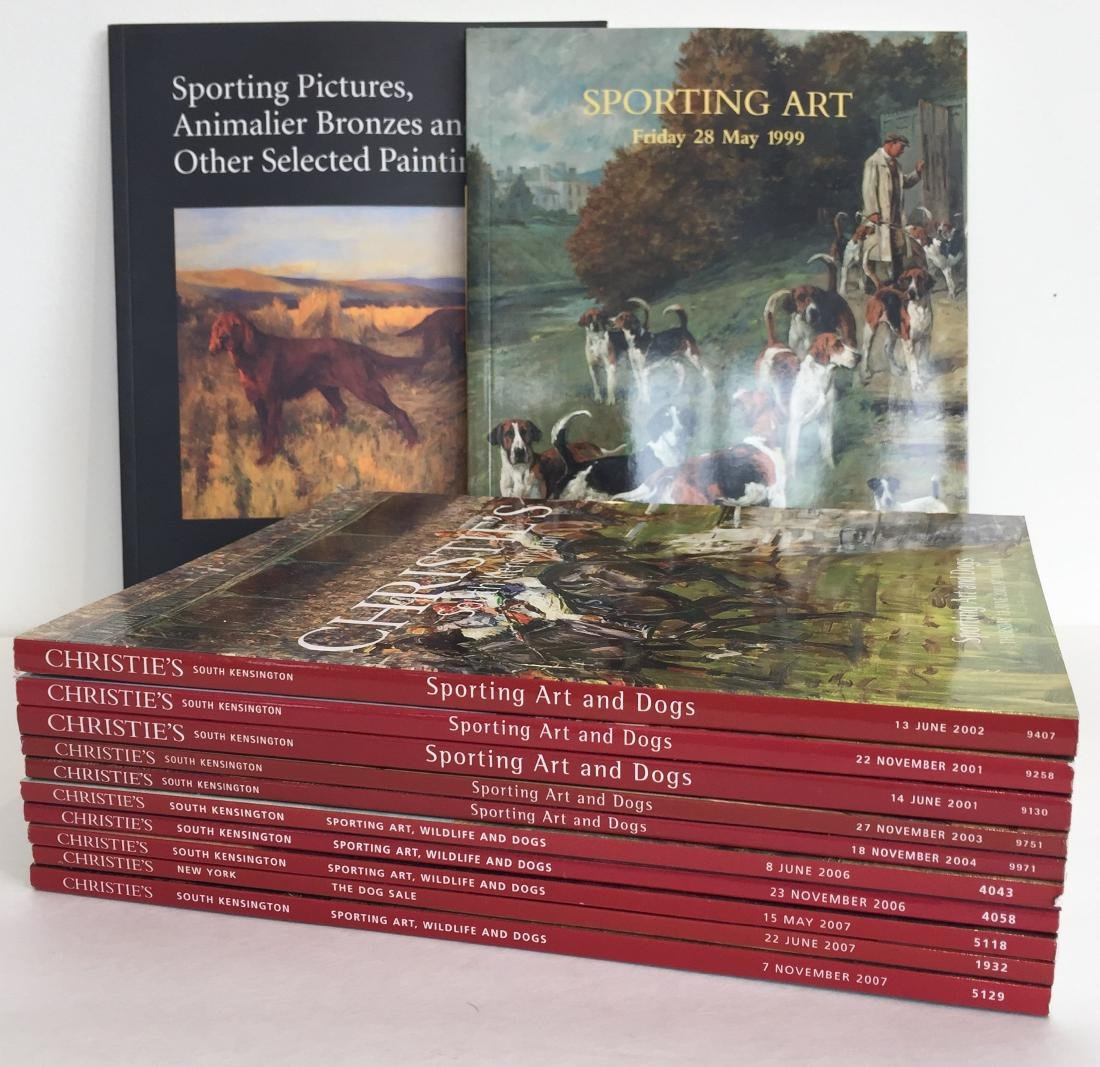 Sporting and Dog Art Auction Catalogs