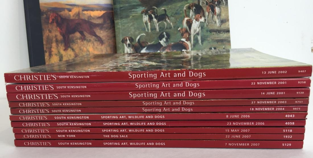 Sporting and Dog Art Auction Catalogs - 2