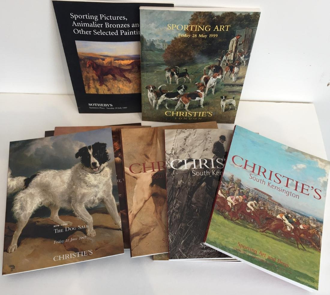 Sporting and Dog Art Auction Catalogs - 3