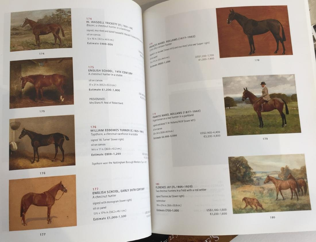Sporting and Dog Art Auction Catalogs - 5