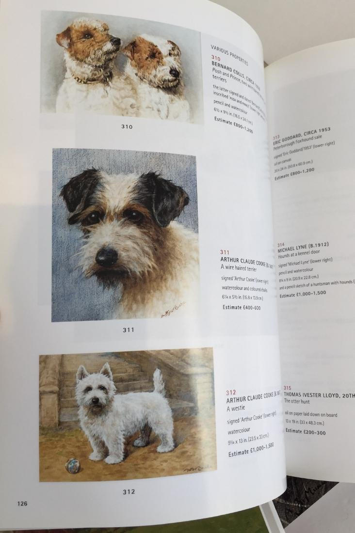 Sporting and Dog Art Auction Catalogs - 6