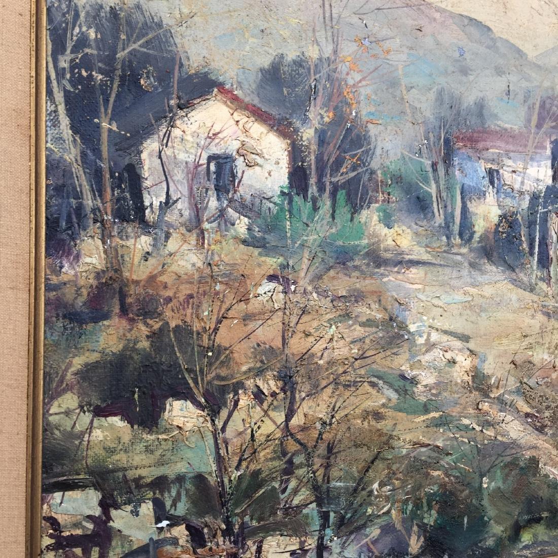 Lucien Delarue (1925-2011) Oil Painting in Frame - 2