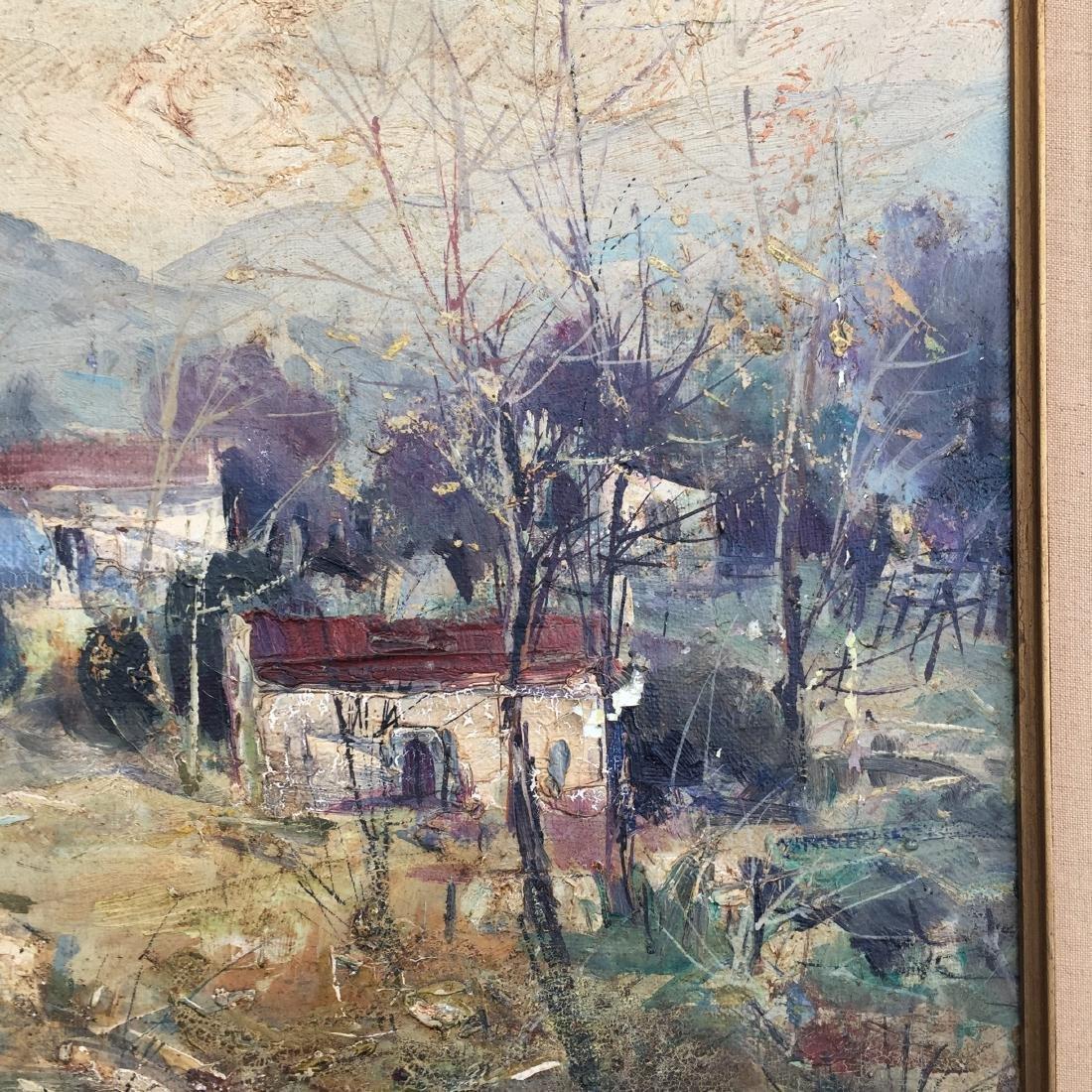 Lucien Delarue (1925-2011) Oil Painting in Frame - 3
