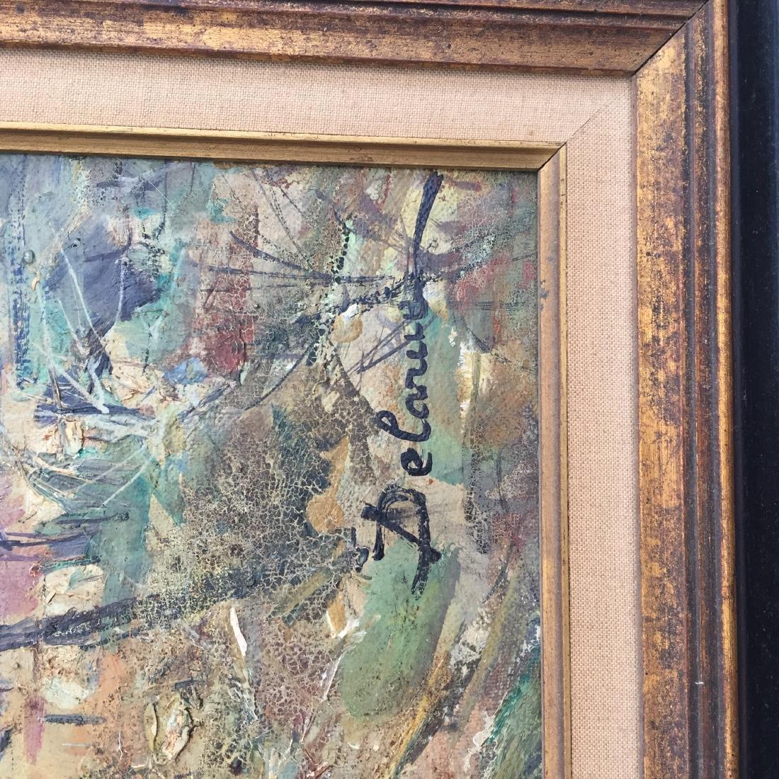 Lucien Delarue (1925-2011) Oil Painting in Frame - 4