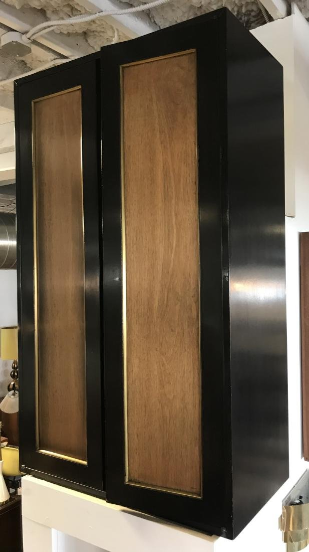 Pair Harvey Probber Style Hanging Cabinets - 3