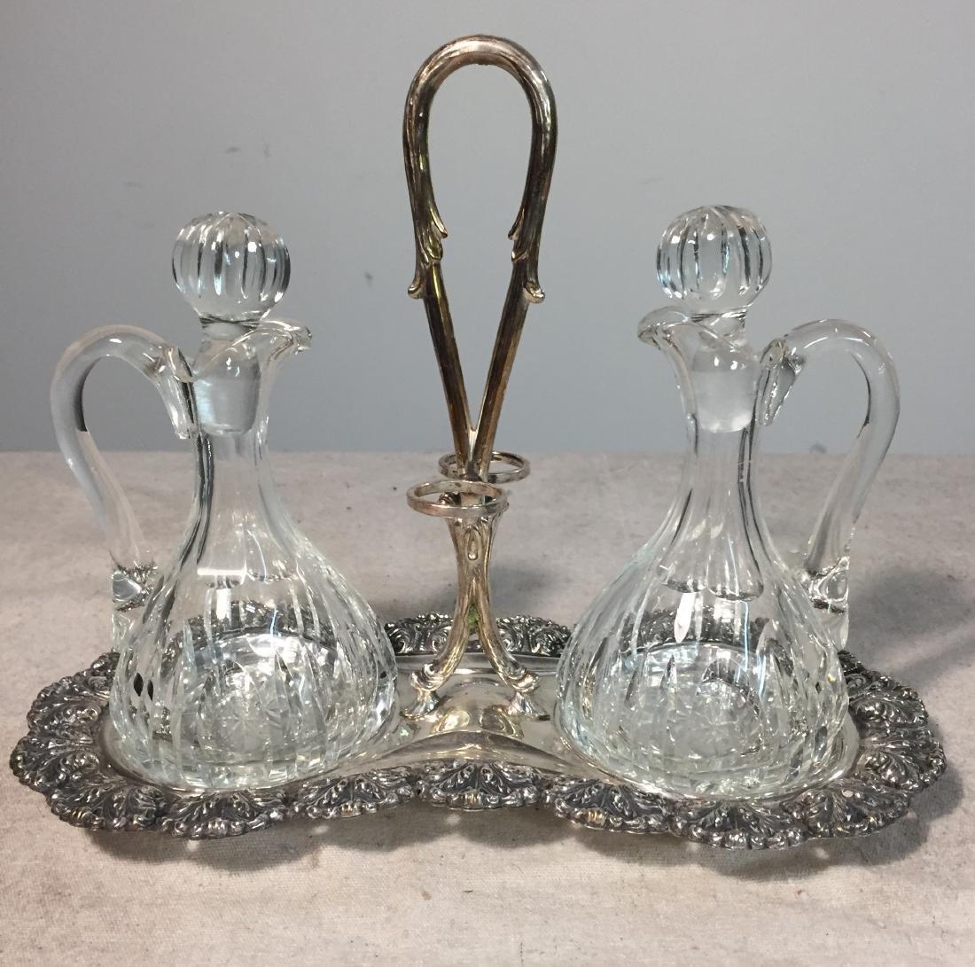 Firenze Sterling Silver Italian Cruet Set