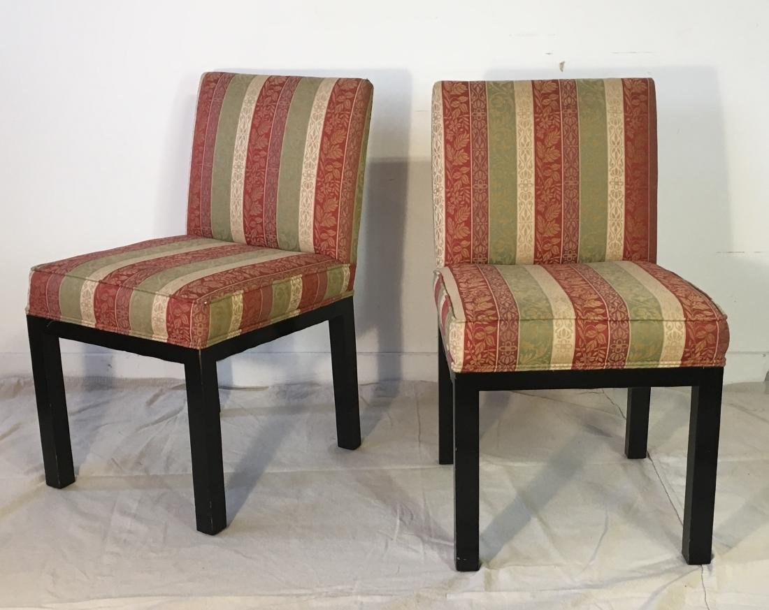 Set of 10 John Widdicomb Dining Chairs