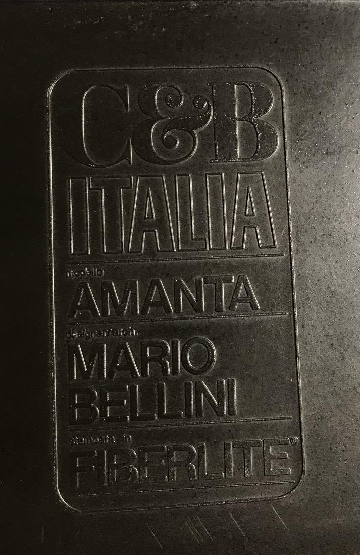 Mario Bellini Amanta Chairs C & B Italia - 4