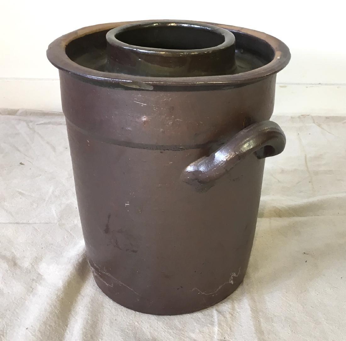 Dutch Stoneware Pot with Handles