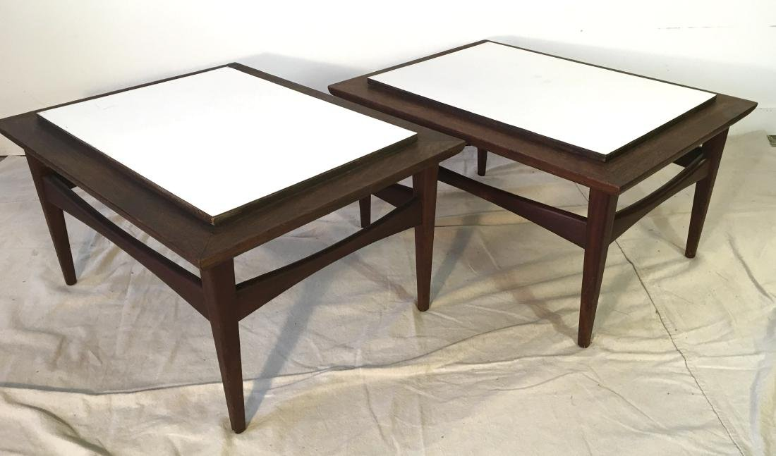 Risom Style End Tables