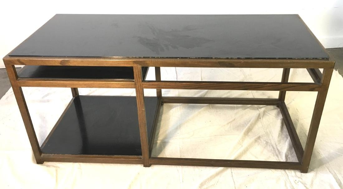 Dunbar Coffee Table Ash with Black