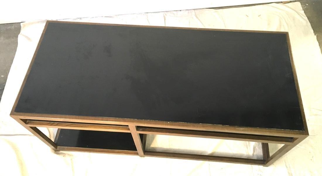 Dunbar Coffee Table Ash with Black - 2
