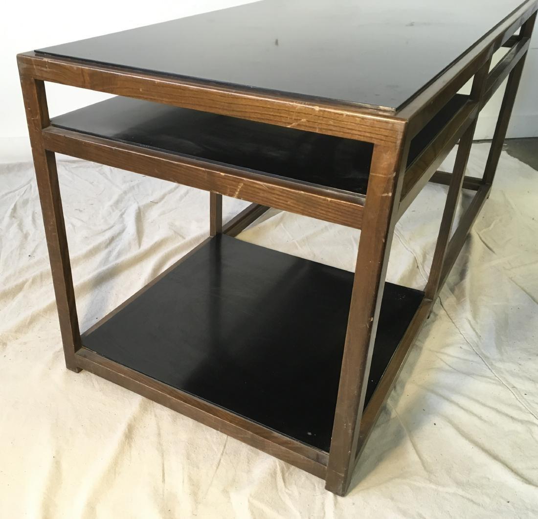 Dunbar Coffee Table Ash with Black - 4