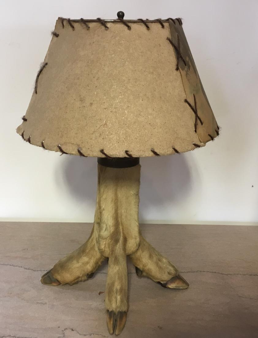 Antique Hoof Lamp - 2