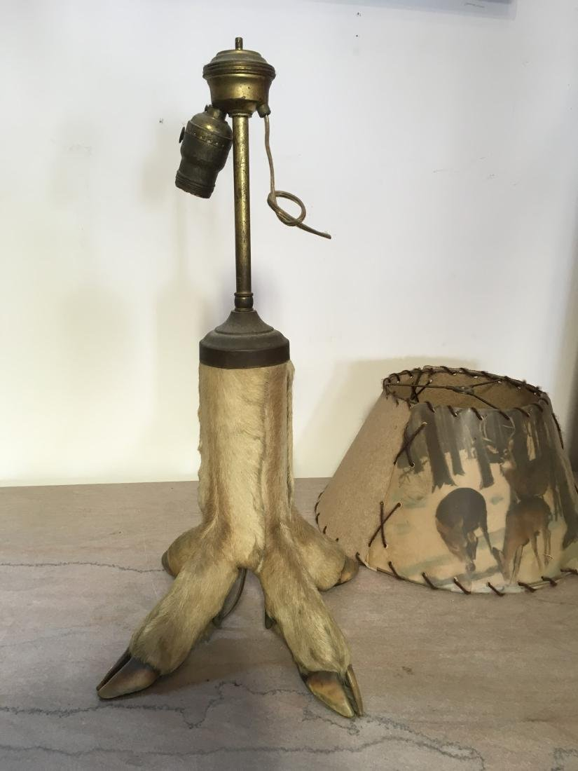 Antique Hoof Lamp - 3