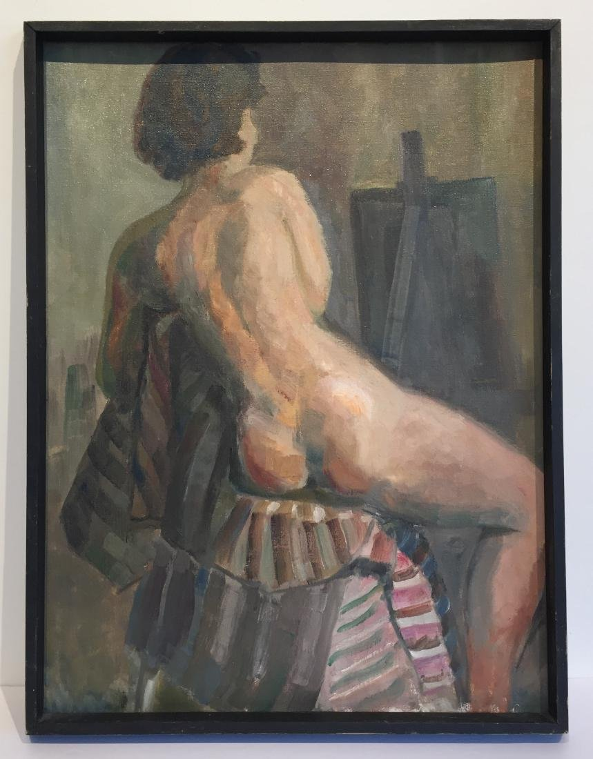 Vintage Painting of Nude