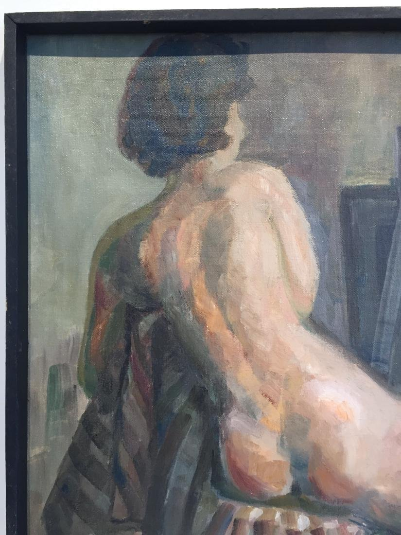 Vintage Painting of Nude - 3