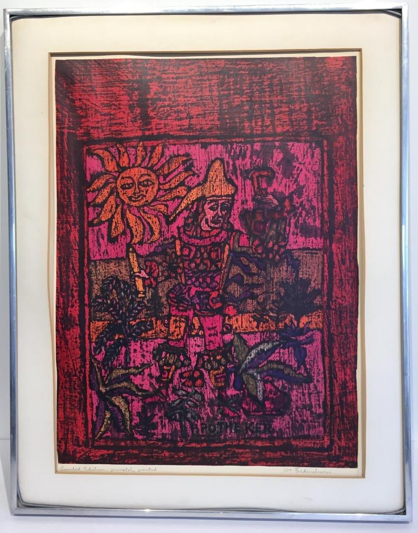 """William Frederickson Print """"Apotheker"""""""