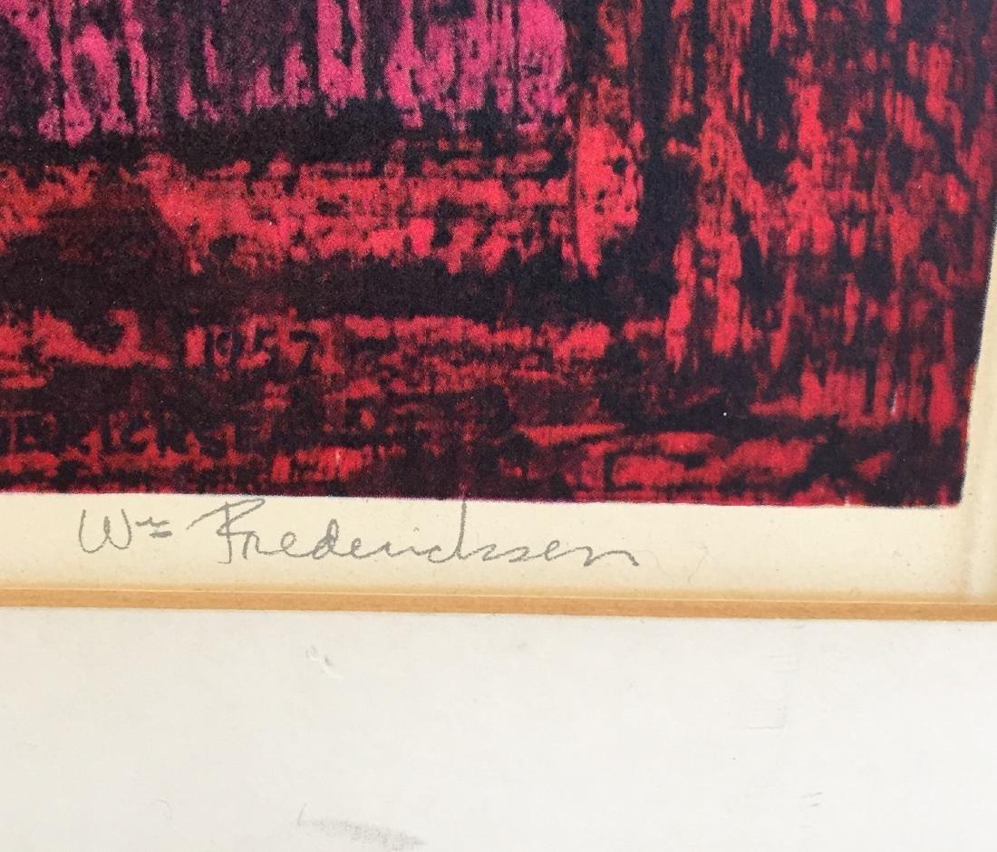 """William Frederickson Print """"Apotheker"""" - 4"""