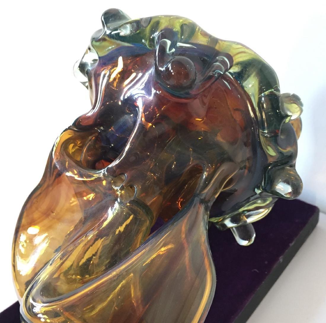 Biomorphic Blown Glass Sculpture - 5