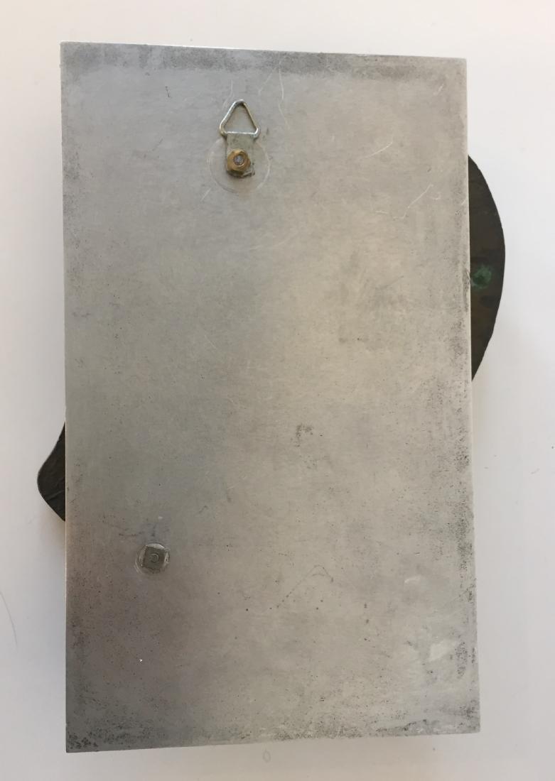 Bronze Face Sculpture signed Friedberg '79 - 4