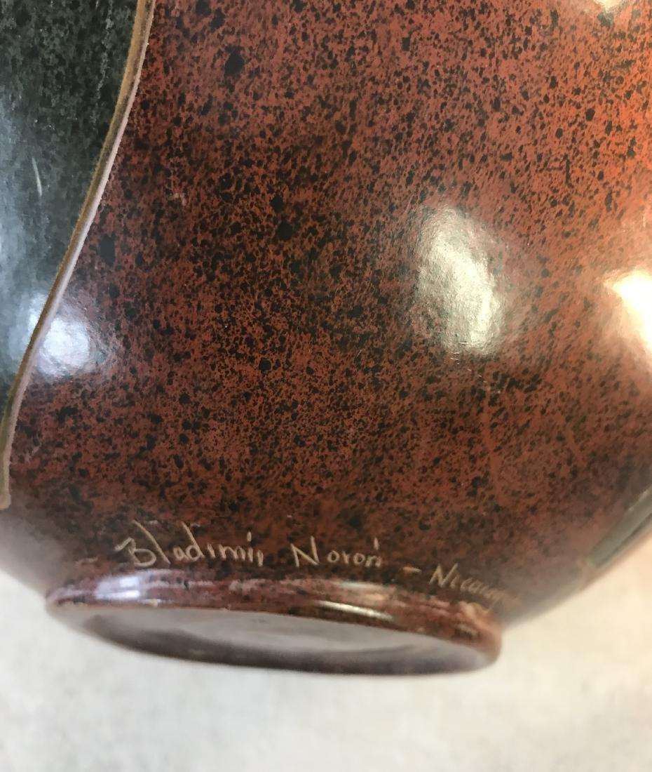 Nicaraguan Vase Signed by Artist - 3