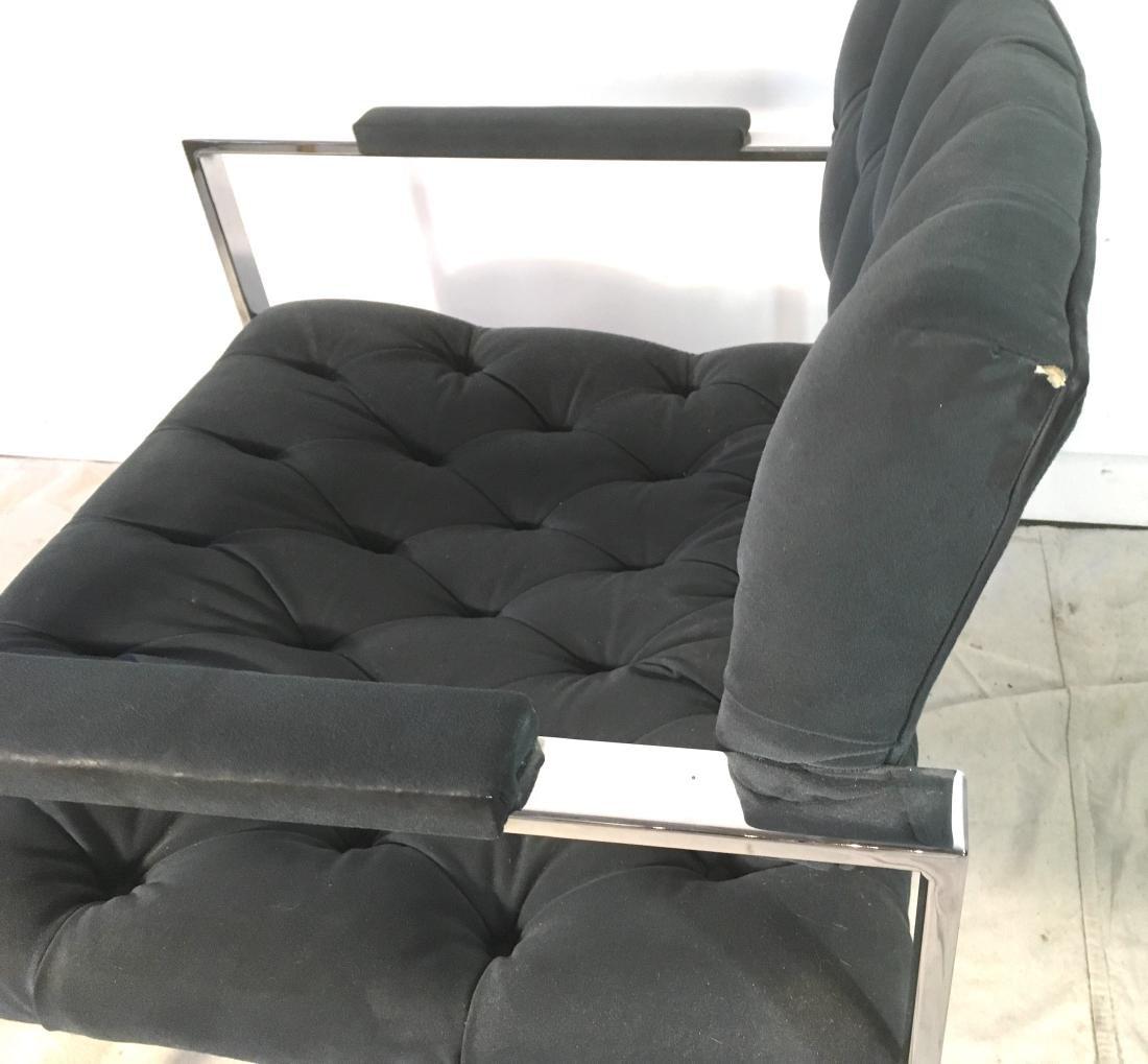 Probber Flat Bar Chrome Armchair - 3