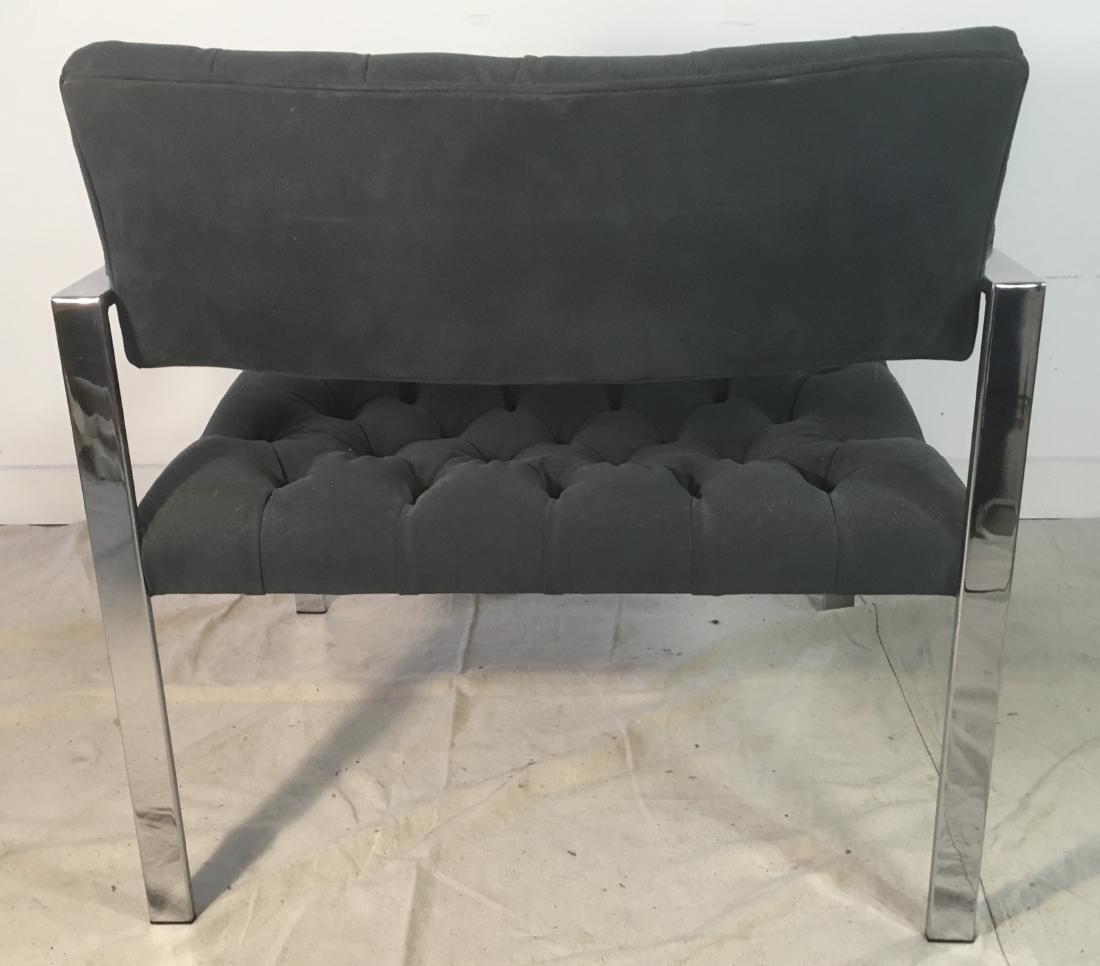 Probber Flat Bar Chrome Armchair - 4